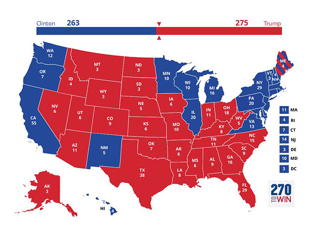 Analysis: Donald Trump Would Win Election Today Based on Current Polling
