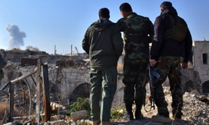 Aleppo bombing will continue until rebels leave, Russia says